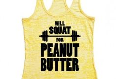 Will squat for Peanut Butter