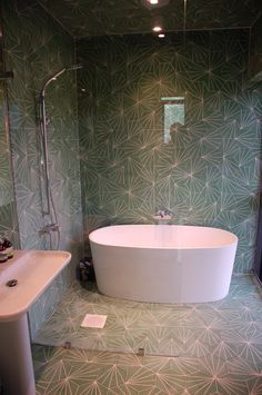 marrakech dandelion tile stone grey design - Google Search great design let down by poor lighting