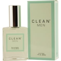 Men cologne by Clean. Crisp and clean, but for dudes.