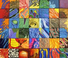 23 Collaborative Art Projects That Bring out Everyone's Creative Side Teachers and students alike will be amazed at what they can produce when they work together. These collaborative art projects are ideal at any age. Collaborative Art Projects For Kids, Art Club Projects, Classroom Art Projects, Art Classroom, Auction Projects, Group Projects, Unique Art Projects, Family Art Projects, Auction Ideas