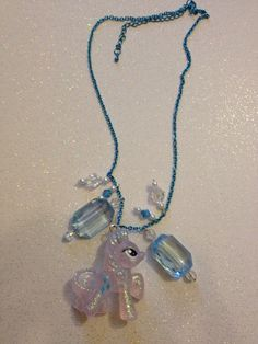 My Little Pony Rarity Necklace on Etsy, $14.00