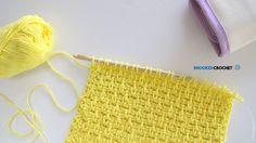 Tunisian Crochet Wash Cloth Series Pattern Four - YouTube