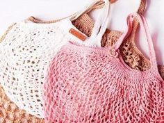 Faire un sac filet au crochet - Blog My Chic Mercerie
