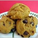 Scary Easy Pumpkin Chocolate Chip Cookies