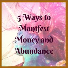 New post is up 💗💫✨ 5 Ways to Manifest Money and Abundance. Having problems manifesting? Got you covered 5 Ways 😉👍💗 Link is in the bio . Spiritual Coach, Spiritual Guidance, Positive Mindset, Positive Vibes, You Are Special, Let Your Light Shine, You Are Worthy, To Manifest, I Remember When