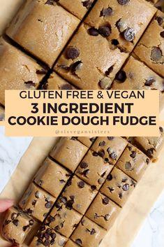 Vegan Dessert Recipes, Gluten Free Desserts, Baking Recipes, Delicious Desserts, Yummy Food, Baking Desserts, Cake Baking, Bar Recipes, Health Desserts