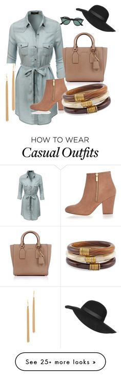 """Casual Weekend"" by elizabetholiver2012 on Polyvore featuring moda, LE3NO, River Island, Michael Kors, Ray-Ban, Topshop, Chico's y Jules Smith"