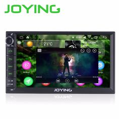 2G+32G New Android 6.0 Quad Core Universal Car Audio Stereo GPS Navigation Double 2 Din 1024*600 HD Car Radio Multimedia Player