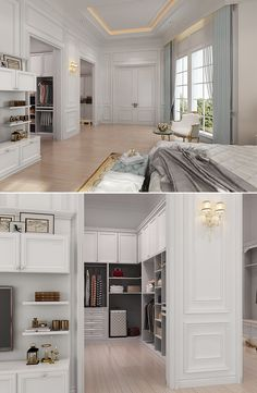 #closet Neo-classical Style in Whole House Design