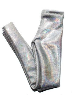 Winter collection of 2015, handcrafted in New York. Soft silver holographic…