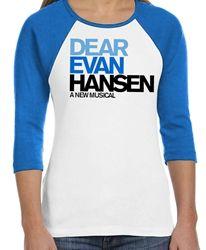 Dear Evan Hansen Raglan Baseball T-shirt