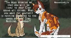 I made this edit of Crookedkit promising Mapleshade, that would change his life in the worst way possible! Repin with credit please.