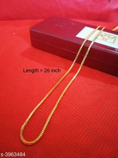 Necklaces & Chains Women's Alloy Gold Plated Necklaces & Chains Base Metal: Alloy Plating: Gold Plated Sizing: Adjustable Type: Chain Multipack: 1 Sizes: Country of Origin: India Sizes Available: Free Size   Catalog Rating: ★4.1 (1703)  Catalog Name: Women's Alloy Gold Plated Necklaces & Chains CatalogID_559123 C77-SC1092 Code: 331-3963484-012