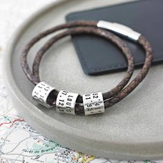 personalised storyteller bracelet or necklace by sally clay jewellery design | notonthehighstreet.com