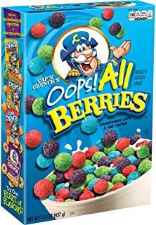 Amazon Com Cereal All Berries Crunch Cereal Berry Cereal Berry crunch vs cap n crunch which cereal is better must watch. pinterest