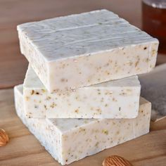 honey almond chamomile goat's milk soap, Over The Apple Tree