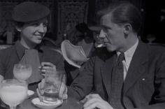 Gerda Taro and Fred Stein. París, 1935