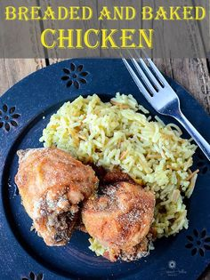 SUPER EASY BAKED AND BREADED CHICKEN | The Salty Pot