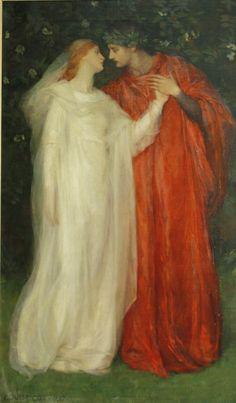 Louise Howland King Cox (1865 - 1945) - Angiola (from The Fair Angiola, an Italian Fairy Tale)
