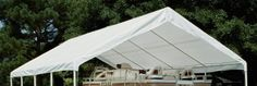 King Canopy 20 x 27 ft White Drawstring Cover for HC1827 by King Canopy. $106.74. King Canopy 20 x 27 ft White Drawstring Cover for HC1827