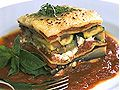Vegetarian Lasagne with eggplant, zucchini, mushrooms,onions and lots of herbs Veggie Recipes Healthy, Healthy Menu, Vegetarian Recipes, Cooking Recipes, Vegetarian Lasagne, Veggie Lasagna, Vegetable Dishes, Vegetable Recipes, Vegan Dishes
