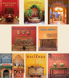 Mexican Design Books Series by Karen Witynski & Joe P. Carr