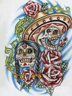 Day Of The Dead Art - El Dia De Los Muertos