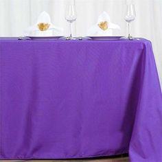 x Polyester Rectangular Tablecloth - Royal Blue Floral Tablecloth, Rainbow Wedding Decorations, Table Decorations, Table Overlays, Banquet Tables, Theme Color, Wedding Linens