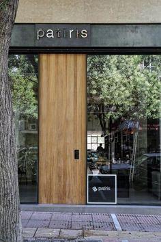 Image result for wood storefront like door