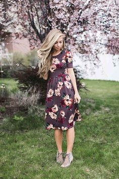 fc061f7d3a3 24 Best Floral Dress Design images