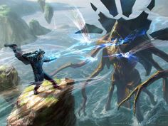 Done for Magic: the Gathering Battle for Zendikar Painting environments is tough but fun! I want to get better at it Get prints of this on inprnt! www.inprnt.com/gallery/depingo… Art Directo...