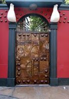 Gate in Barranca, Peru, photo by Chaska Peacock