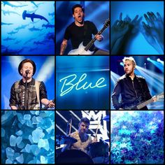 Requested! Fall Out Boy blue moodboard (my edit)