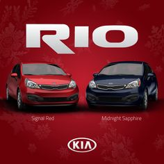 FUNctional ride. FUNctional colors. Signal Red. Midnight Sapphire. 2015 Kia Rio. http://www.kia.com/us/en/vehicle/rio/2015/experience?story=hello&cid=socog
