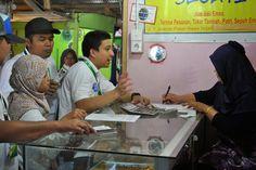 BPJS Ketenagakerjaan Cabang Malang Gelar Blusukan Pasar