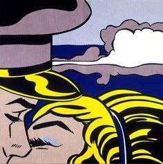 Roy Lichtenstein, Kiss with Cloud, 1964
