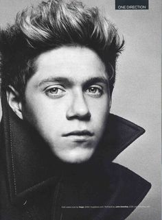 One Direction's Niall wearing Pembroke, a cotton roll neck, GQ Magazine Sept 2013