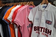 Polistas wide range of polo shirts