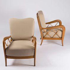 Pair of Paolo Buffa Armchairs 3
