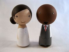 A must for our wedding day :) https://www.etsy.com/listing/151465066/full-custom-personalized-kokeshi-peg
