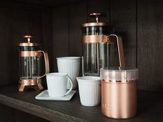 Esthetic Living - French Press Coffee Pot - Electric Copper, $59.95 (http://estheticliving.com/french-press-coffee-pot-electric-copper/)