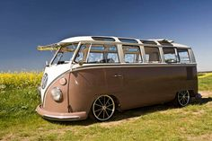 One very cool Kombi van.