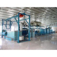 semi-automatic Dacromet coating machine  china-zincflake-equipment.com