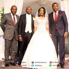 Congratulations to Frank Adaviriku Omuya and Omonike Odi as they become ONE. We celebrate your Union. #FWCweddings