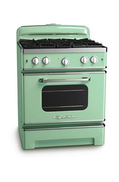 Big Chill Stove. my kitchen will be full of big chill one day.