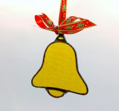 Stained Glass Holiday Jingle Bell Christmas Tree by JBsGlassHouse