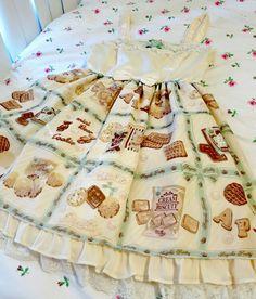 AP Cream Biscuit printed Lolita Dress