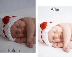 Editing a newborn in Photoshop..I don't shoot newborns but this is a good tutorial....<3callie