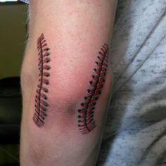 tommy john surgery tattoo tattoos pinterest surgery tattoo rh pinterest com baseball stitches tattoo baseball stitches tattoo