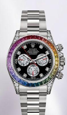 A Gay Pride Rolex!!